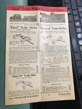 1930s Nicols Dean Gregg Model T Grain Grinder Wagon Pamphlet Ideal - $29.99