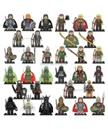 32pcs/set The Hobbit Lord of The Rings Uruk-hai Gandalf Sauron Minifigures  - $46.50