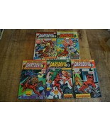 Daredevil #120 121 122 123 124 Marvel Comic Book Lot of 5 FN 6.5 Black W... - $38.69