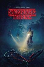 STRANGER THINGS - TV SHOW POSTER 24x36 - BIKES  - $23.00
