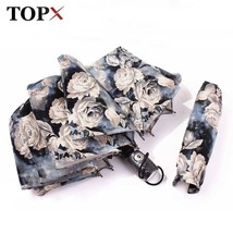 TopX® Strong Wind Creative Retro Pattern Beautiful Painting Women Rose 3... - $29.50