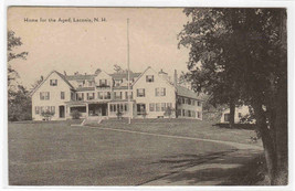 Home for the Aged Laconia New Hampshire postcard - $5.94