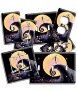 NIGHTMARE BEFORE CHRISTMAS JACK SKELLINGTON LIGHT SWITCH OUTLET PLATE RO... - $8.99+