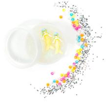 SEALED Horizon Group SlimyGloop Mystery Glitter Slime Mix'Ems + Surprise Figure image 4