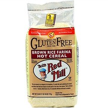 Bob's Red Mill Creamy Brown Rice Farina Hot Cereal, 26 Ounce Pack of 4 - $31.36