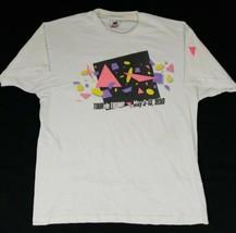 Tour De Trump May 3 - 13 1990 Men's White T-Shirt Size XL Donald Trump S... - $49.38