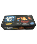 HASBRO GAMING STRANGERS THINGS GAME SEASONS 1 AND 2 SCREEN TEST NETFLIX OFFICIAL - $4.95