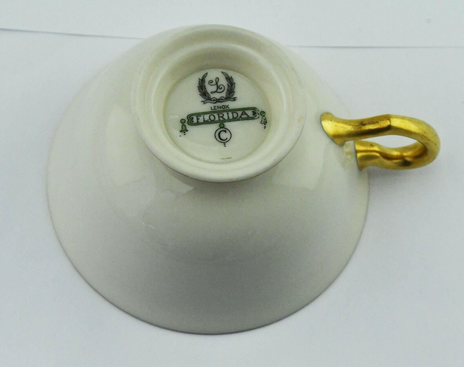 Florida by Lenox Bone China Dinnerware Tea Cup