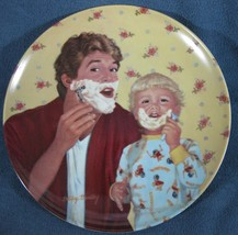 Little Shaver A Father's Love Collector Plate Betsy Bradley COA Vintage - $11.97