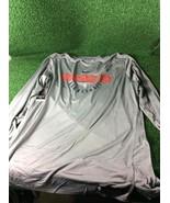 Team Issued Washington Wizards Nike Dri-Fit Long Sleeve Shirt, Gray, 3XLT - $24.99