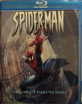 Complete 1990's Spiderman Animated Series on Bluray - $35.00