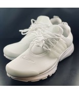 NEW Nike Air Presto Essential Triple White Running Shoes 848187-100 Size 13 - $118.79