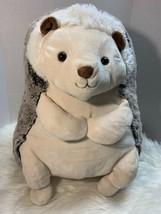 "GOFFA Large Hedgehog Plush Stuffed Animal 18"" Rare Huggable Lovey Cuddle... - $49.00"