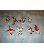 Hallmark Reindeer Champs Ornaments Complete Set Of 8 From 1986 - 1993 - $49.99