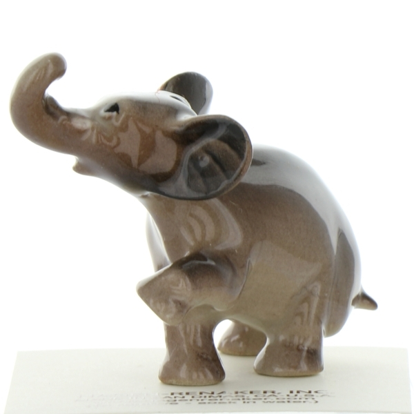 Hagen Renaker Miniature Elephant Cartoon Baby Ceramic Figurine