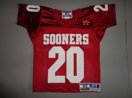 Oklahoma University Sooners OU Toddler 2T Screen Jersey Football Red NCA... - $21.77