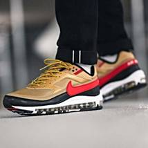 Nike Air Max 97 BW Metallic Gold Red Trainers image 7