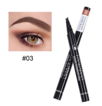 Eyebrow Pencil Waterproof Easy to Wear Fork Tip Eyebrow Tattoo Pen - $1.90