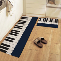 New Piano Keys Soft Carpet Kitchen Hallway Mat Bedroom Rugs Cushion Nonslip Mat - $30.84+