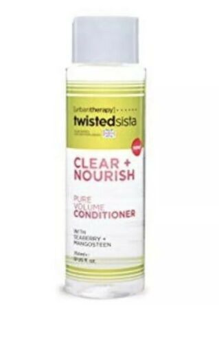 Urban Therapy Twisted Sista Clear + Nourish Conditioner 12 Oz Coily Kinky Hair