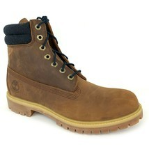 "TIMBERLAND Men's PREMIUM 6"" INCH Waterproof Medium Brown Leather Boots A... - €88,67 EUR+"