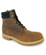 "TIMBERLAND Men's PREMIUM 6"" INCH Waterproof Medium Brown Leather Boots A... - $105.72+"