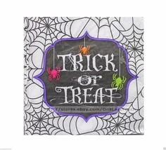 HAPPY HALLOWEEN 20pc 2 Ply Set LUNCHEON NAPKINS Party Supplies TRICK OR ... - £2.23 GBP