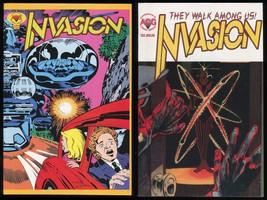 Invasion Comic set 1-2 Lot Jack Kirby Wally Wood Jim Aparo Tom Sutton Ditko art - $89.00
