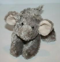 """Aurora ELEPHANT 7"""" Plush Gray Soft Toy Bean Bag Cuddly Baby Grey Stuffed... - $14.48"""