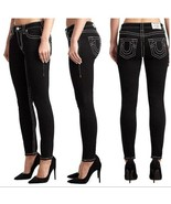 True Religion Jennie Big T Mid Rise Curvy Skinny Fit Jeans Size 26 MSRP:... - $84.14