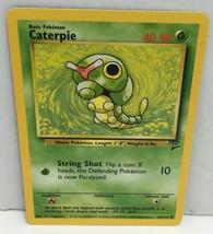 Caterpie 68/130 Pokemon Card Original Base Set 2 TCG NM Great Condition VG - $2.54