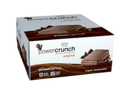 Keto food: Power Crunch low carb Triple Chocolate 12 Bars (9 net carbs) - $27.23