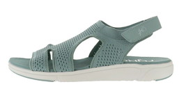 Ryka Stretch Knit Sport Sandals Micha Sage 11W NEW A348990 - $52.45