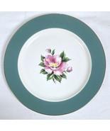 Homer Laughlin Century Service Empire Green Semi Vit Dinner Plate *SMALL CHIP* - $7.83
