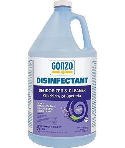 Gonzo Natural Magic Odor Eliminator Disinfectant All-Purpose Cleaner - 1 Gallon