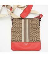 Coach Crossbody Purse Shoulder Bag Adjustable Strap Logo - $44.54