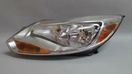 12 13 14 Ford Focus Left Driver Side Halogen Headlight Oem - $98.99