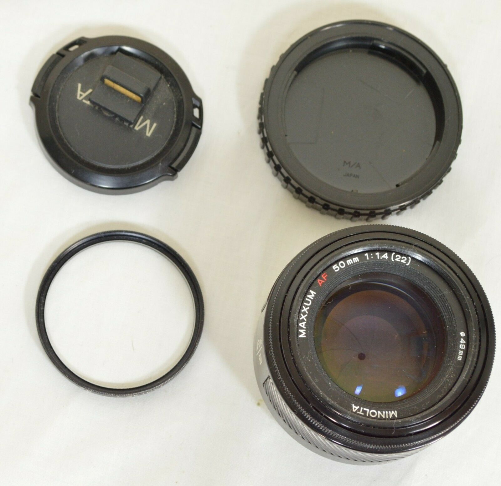 Minolta AF 50mm f/1.4 AF RS camera lens Sony Alpha A-mount image 10
