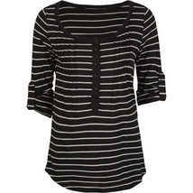 Hurley Black Luna Top Size X-Small Brand New - $19.95