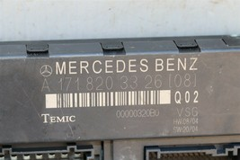 Mercedes R171 Convertible Soft Top Roof Control Module A-171-820-33-26 image 2