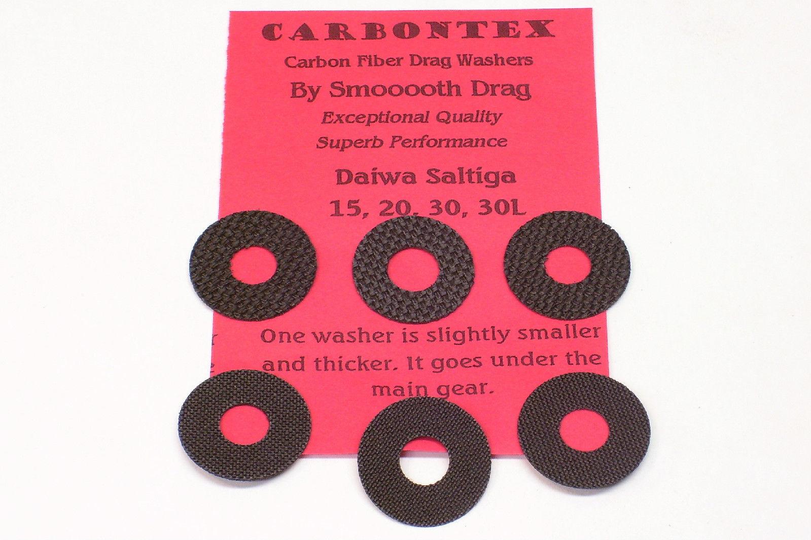 1 Set Carbontex Drag Washers Fits Penn International 955 and 965