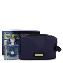 Versace Pour Homme Signature Cologne 3.4 Oz Eau De Toilette Spray Gift Set image 2