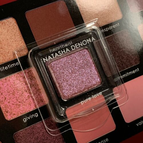 "NATASHA DENONA ""Pure Love"" Eyeshadow Sample Pan .4g From Love Palette New!"
