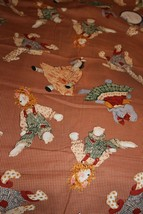 "Daisy Kingdom Cotton Quilt Fabric ""Toy Chest Allover Animals"" 1998  - $9.50"