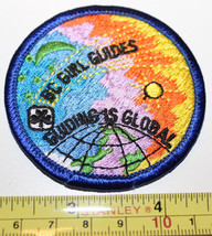 BC Girl Guides Canada Guiding is Global Patch Badge - $9.15