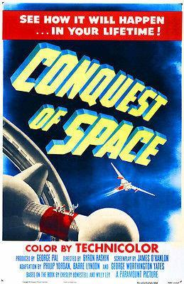 Primary image for Conquest of Space - 1955 - Movie Poster