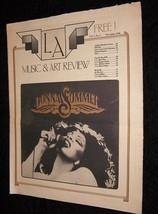 La Music & Art Review November 1978 Donna Summer 10cc + - $16.99