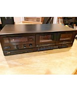 Vintage JVC TD-W106 Stereo Double Cassette Tape Deck Player Recorder - $39.59