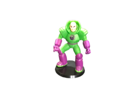 Lexcorp DC Infinite Heroes Lex Luthor Monogram Action Figure Collectible... - $7.92