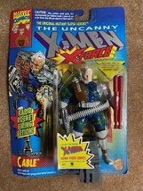"""Marvel Uncanny X-Men  5"""" X-Force Cable with Rapid Rocket Firing Action 1993 - $11.87"""